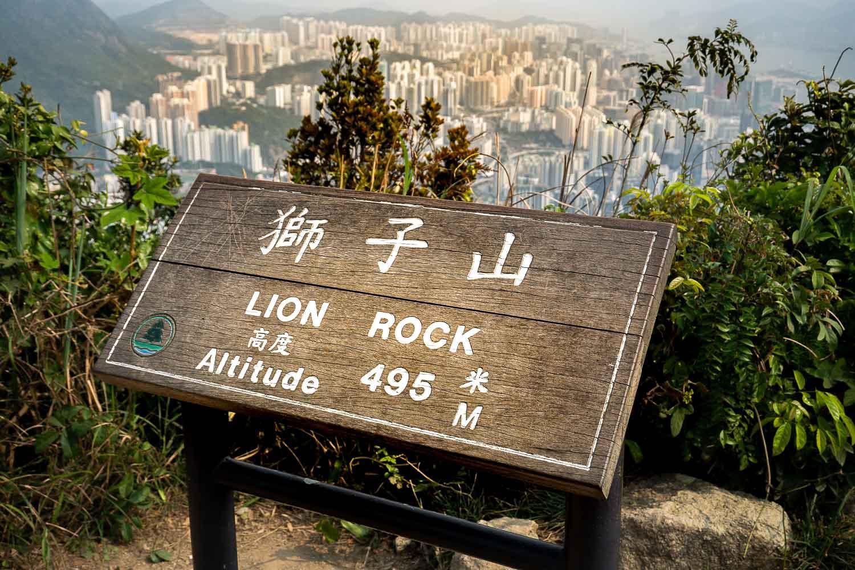 Point de vue sur Kowloon depuis Lion Rock © Sebastian – stock.adobe.com