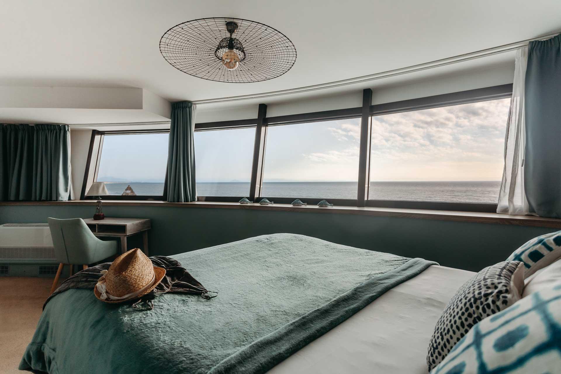 Chambre avec vue sur la plage et l'Océan © Baya