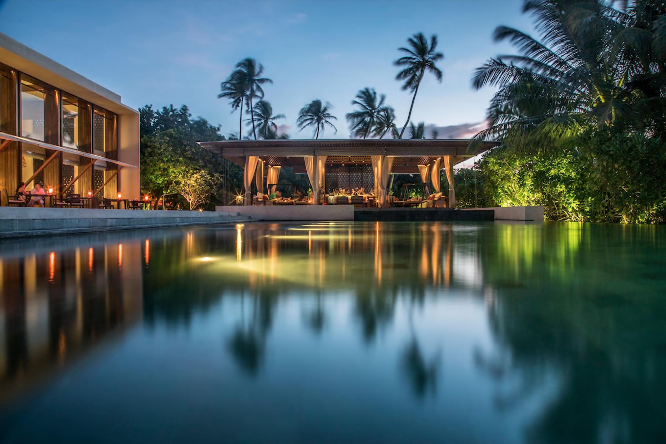 The Bar au Park Hyatt Maldives Hadahaa©DR