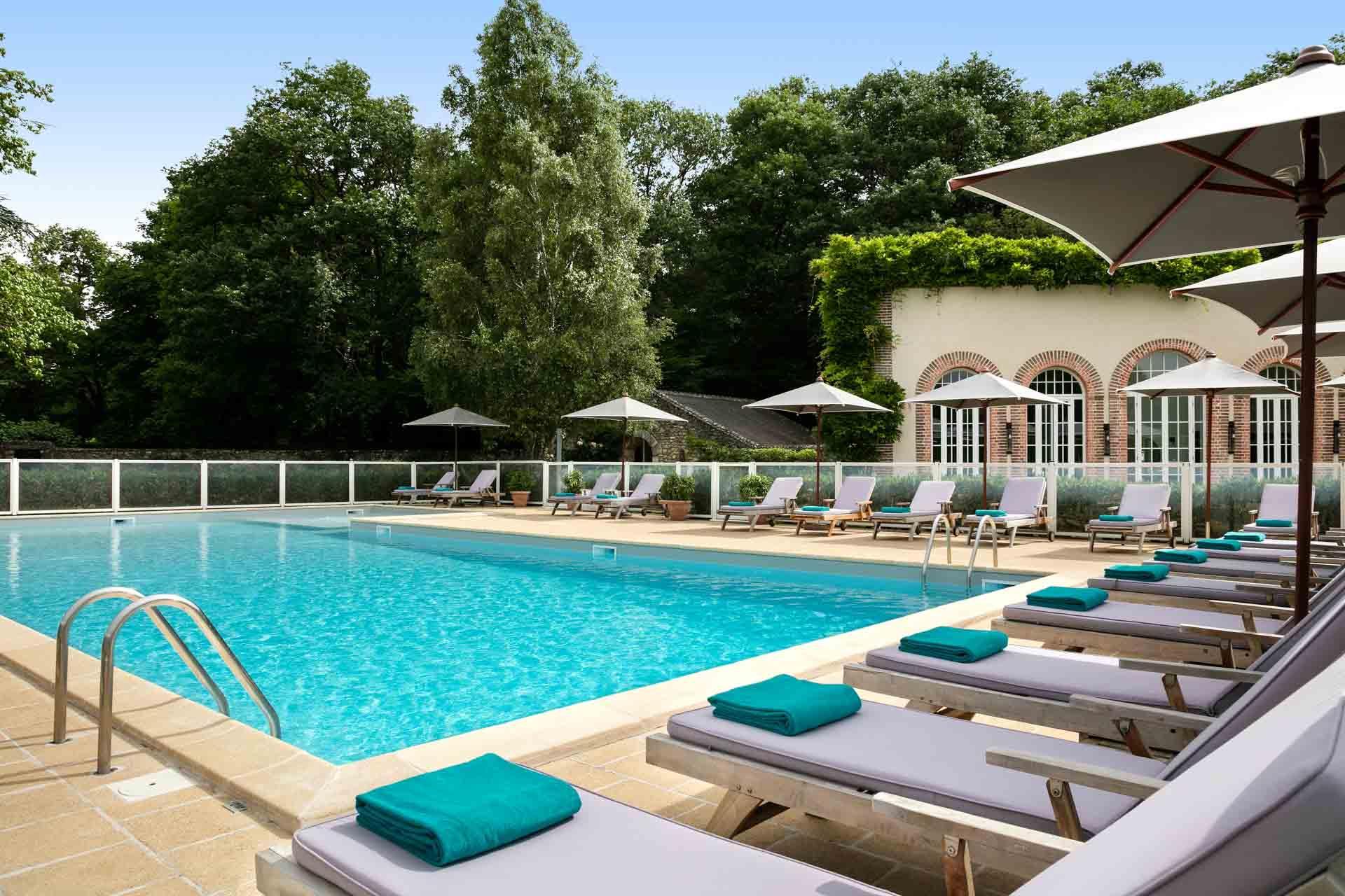 La piscine des Hauts de Loire © Fabrice Rambert