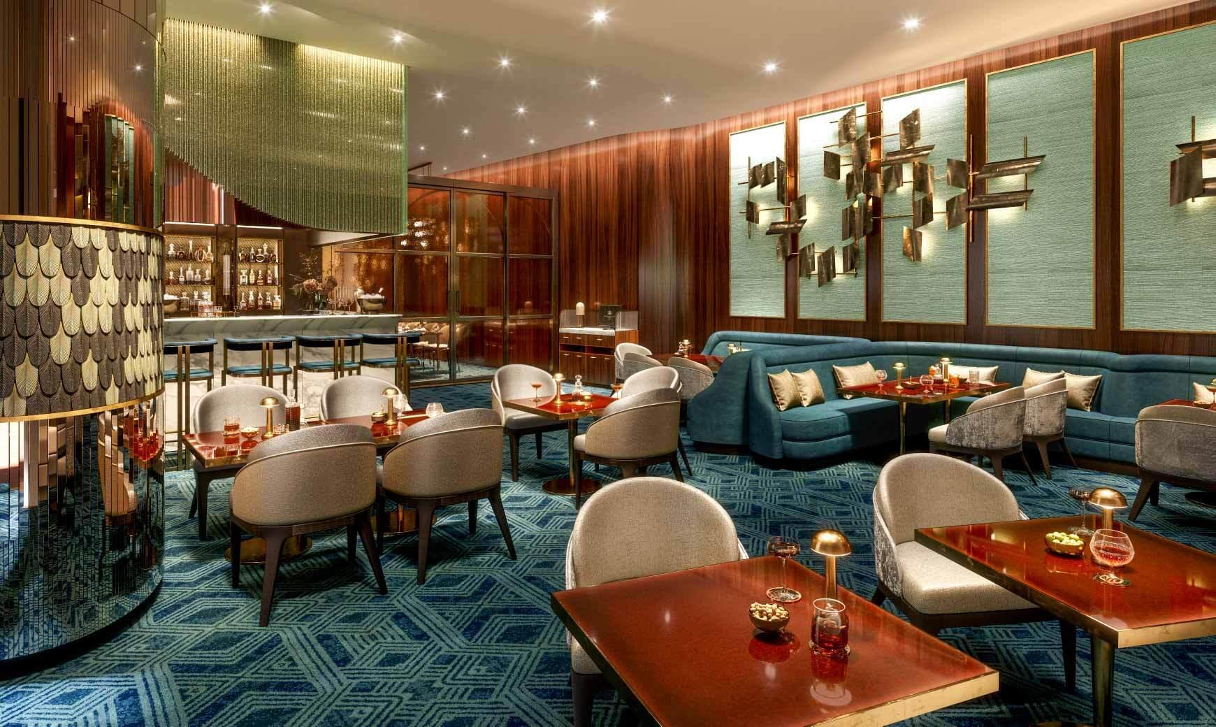 Le bar 19.20 au Prince de Galles © DR