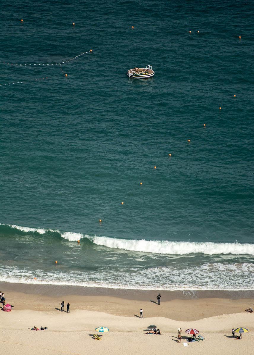 La plage de Repulse Bay, au sud de l'île de Hong Kong © Andrew Wulf