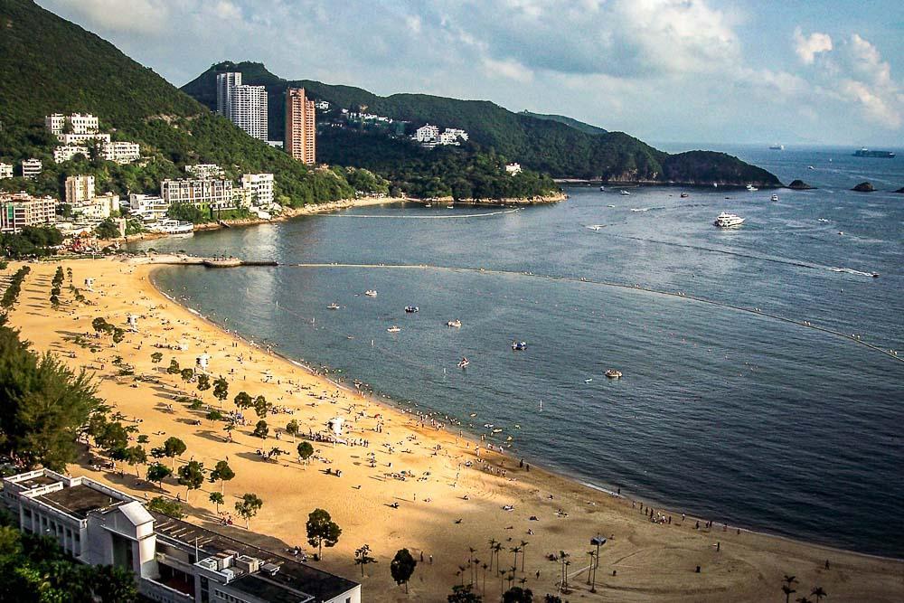 Repulse Bay sur la côte sud de l'île de Hong Kong © Joshua J. Cotten