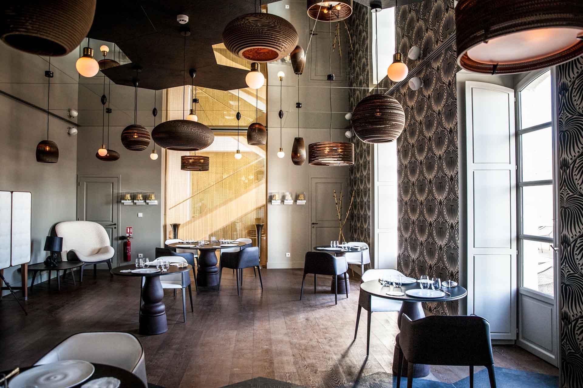Le restaurant gastronomique Le Cloître © Couvent des Minimes