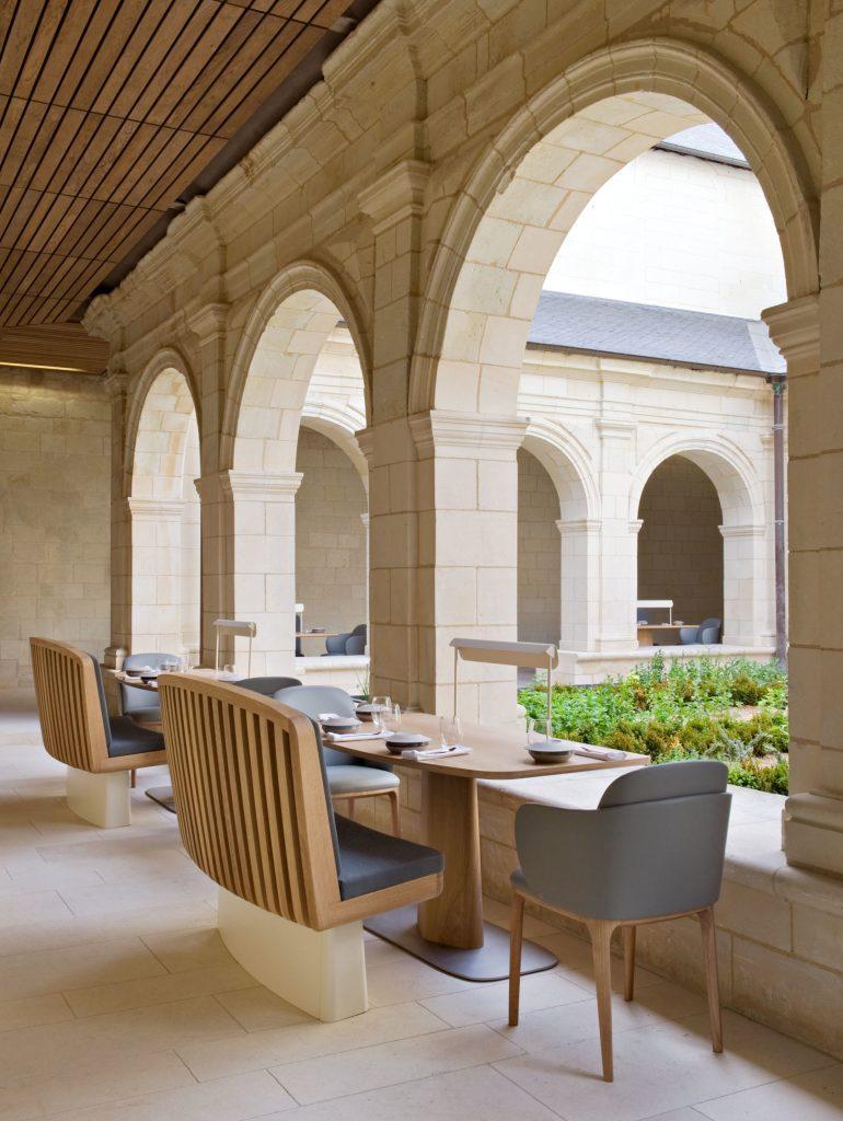 Restaurant de l'Abbaye de Fontevraud © DR