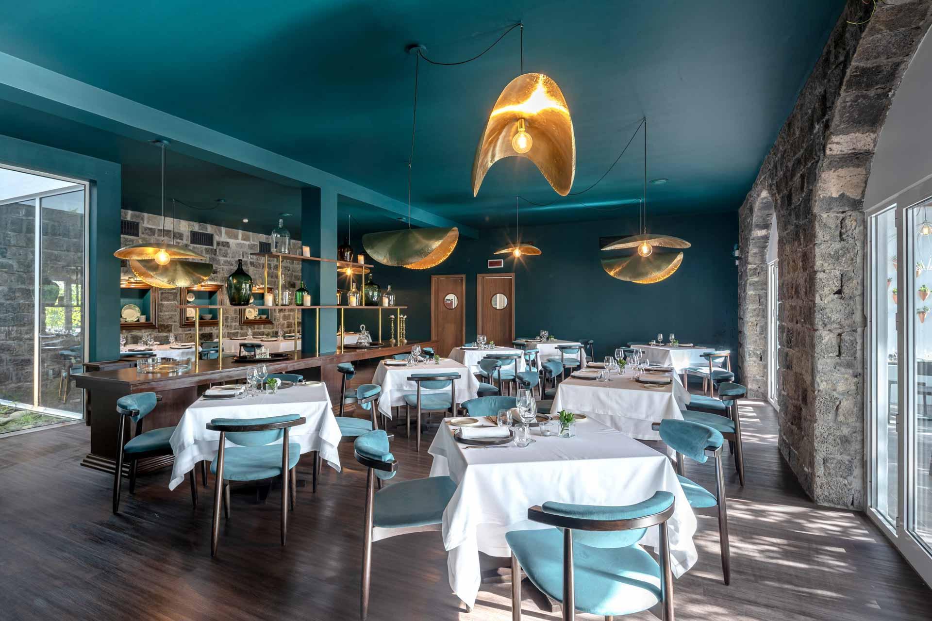 Le restaurant Magma du Senhora da Rosa © Senhora da Rosa