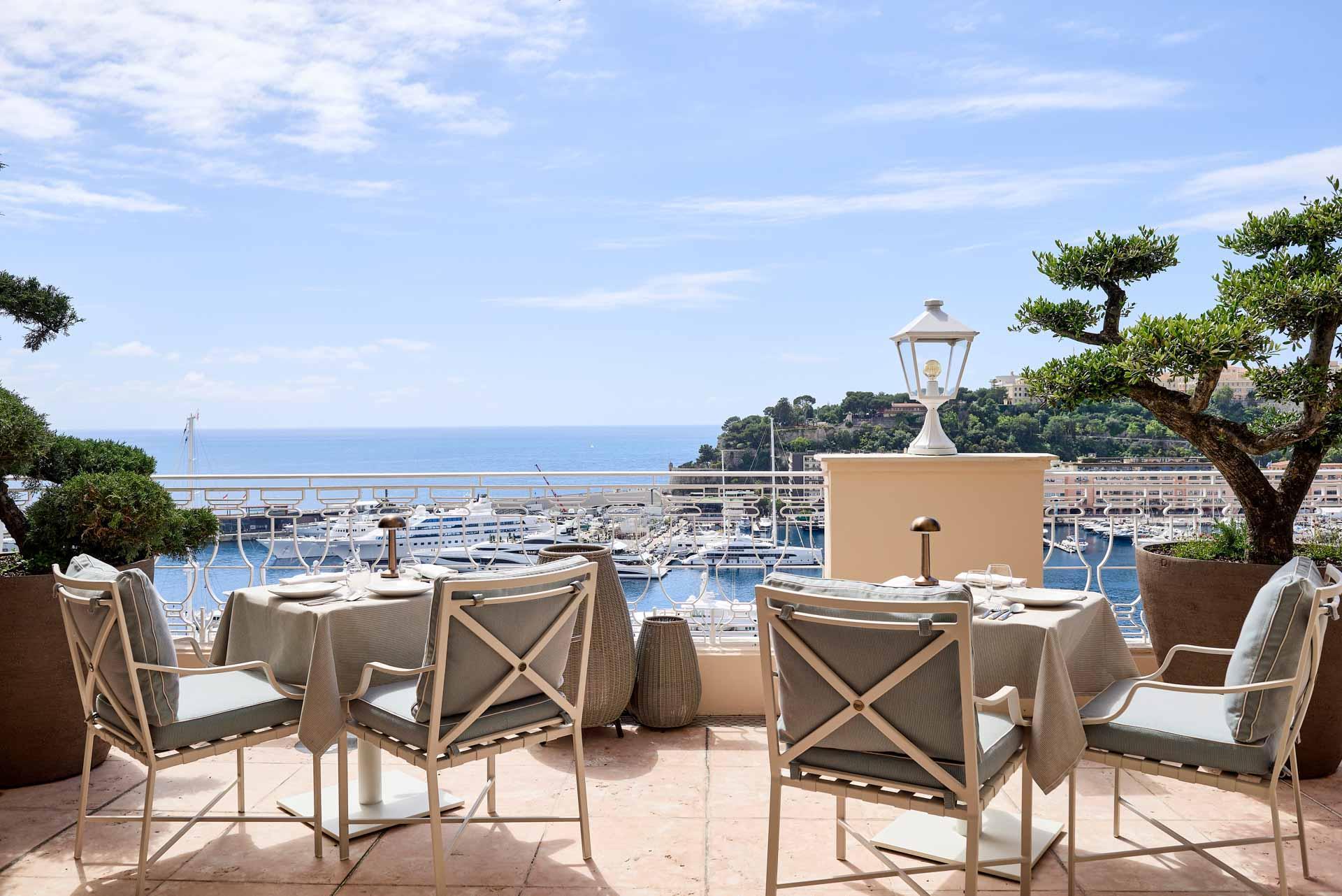 Yannick Alléno à l'Hôtel Hermitage, un balcon sur la Méditerranée © Société des Bains de Mer