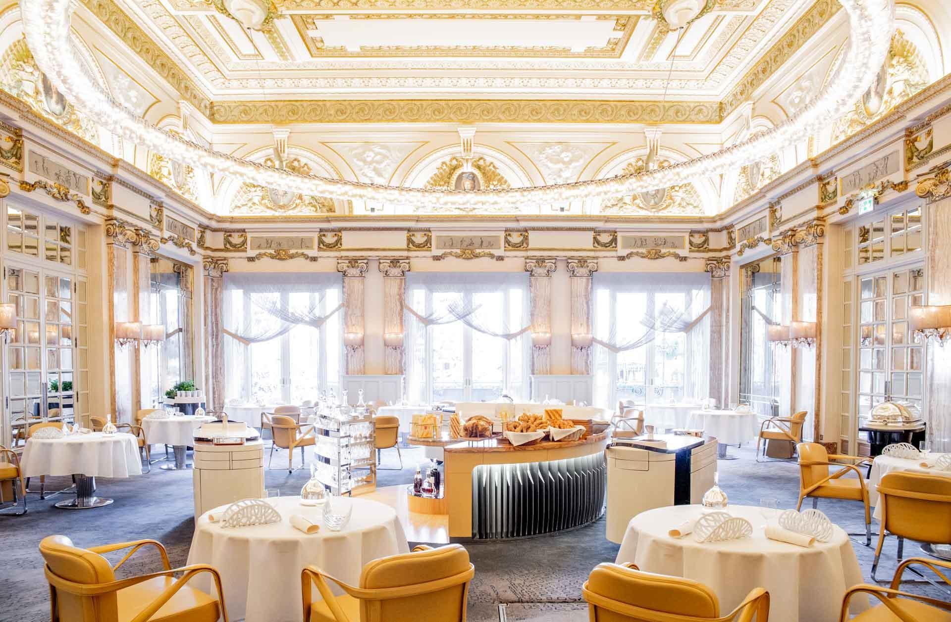 La salle flamboyante du Louis XV © MONTE-CARLO Société des Bains de Mer