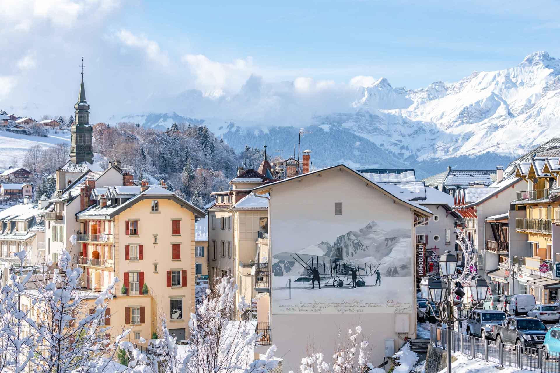 Saint-Gervais Mont-Blanc est d'abord un village de charme où il fait bon vivre et séjourner © Boris Molinier