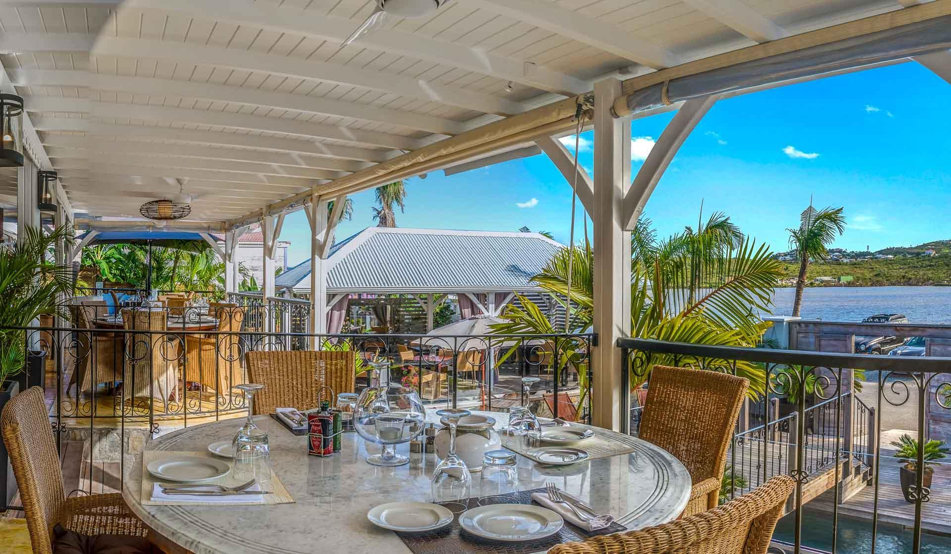 Le restaurant du Sol E Luna face à l'Océan © DR