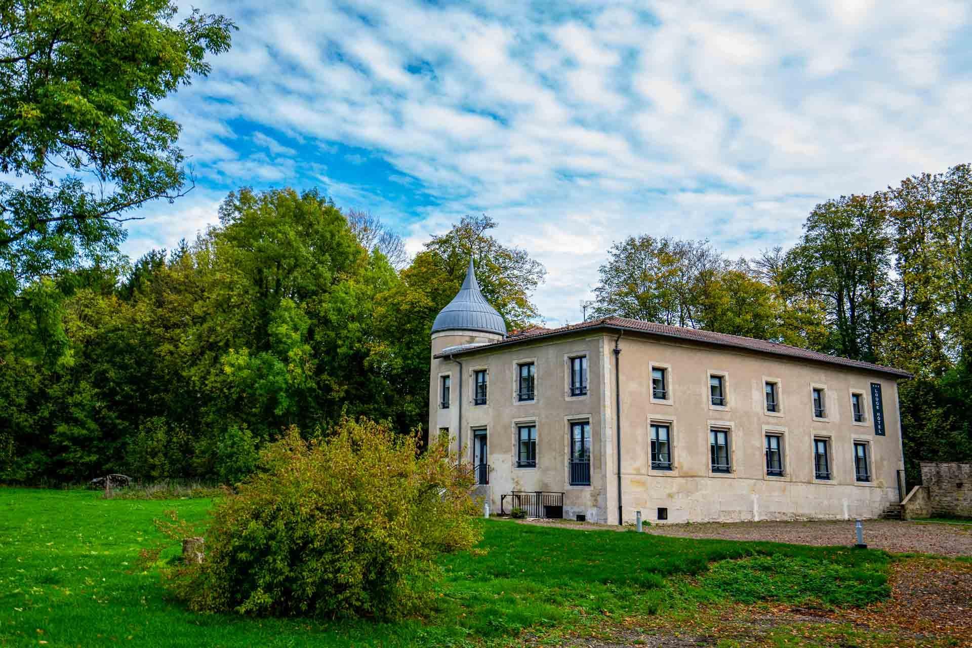 La partie hôtel du Domaine de Sommedieue © Artipair