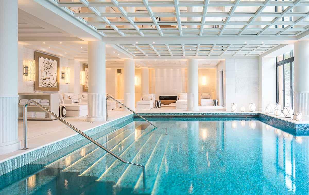 Le Spa du Four Seasons Hotel Megève © DR