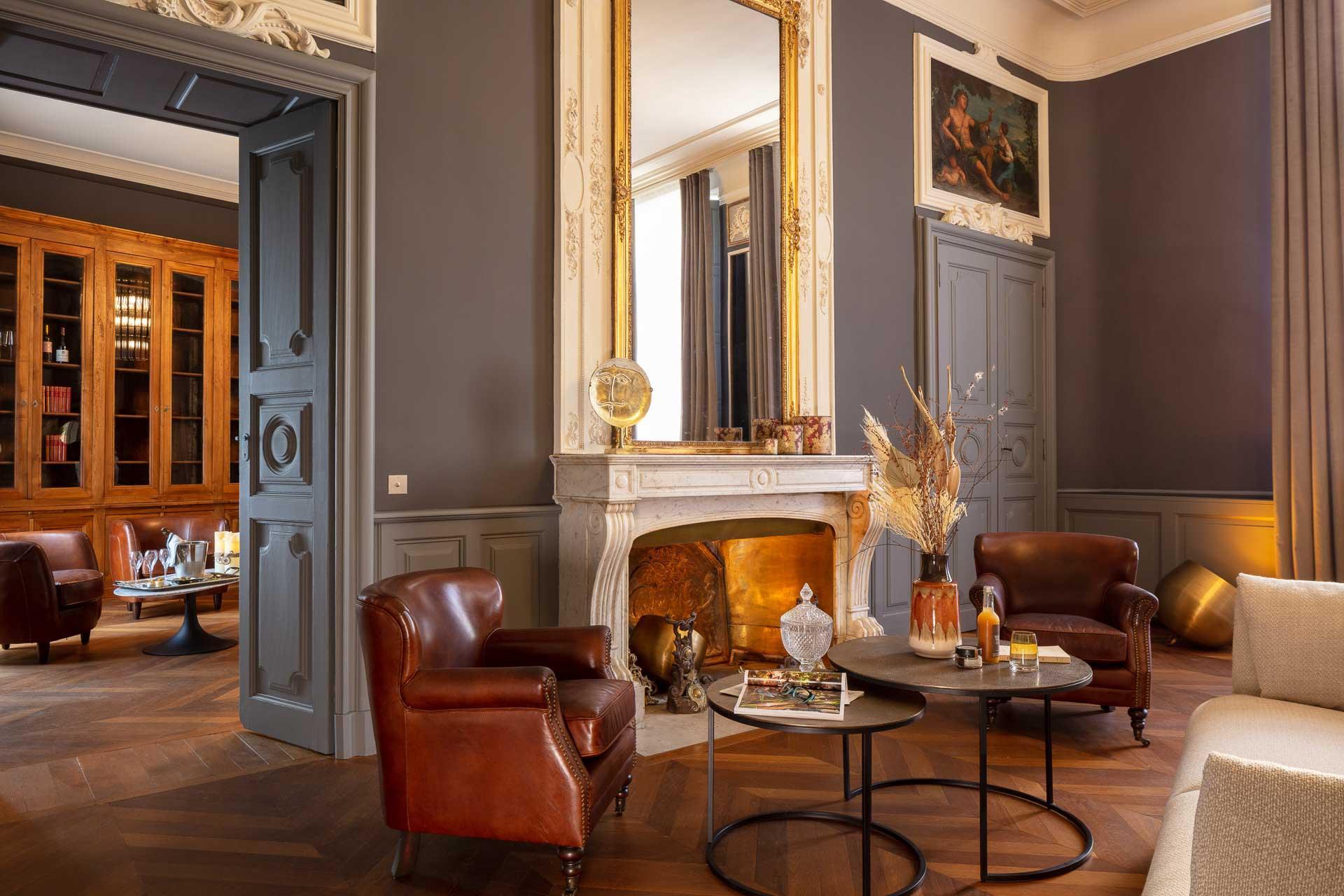 Suite Georges à l'Hôtel Chouleur © DR