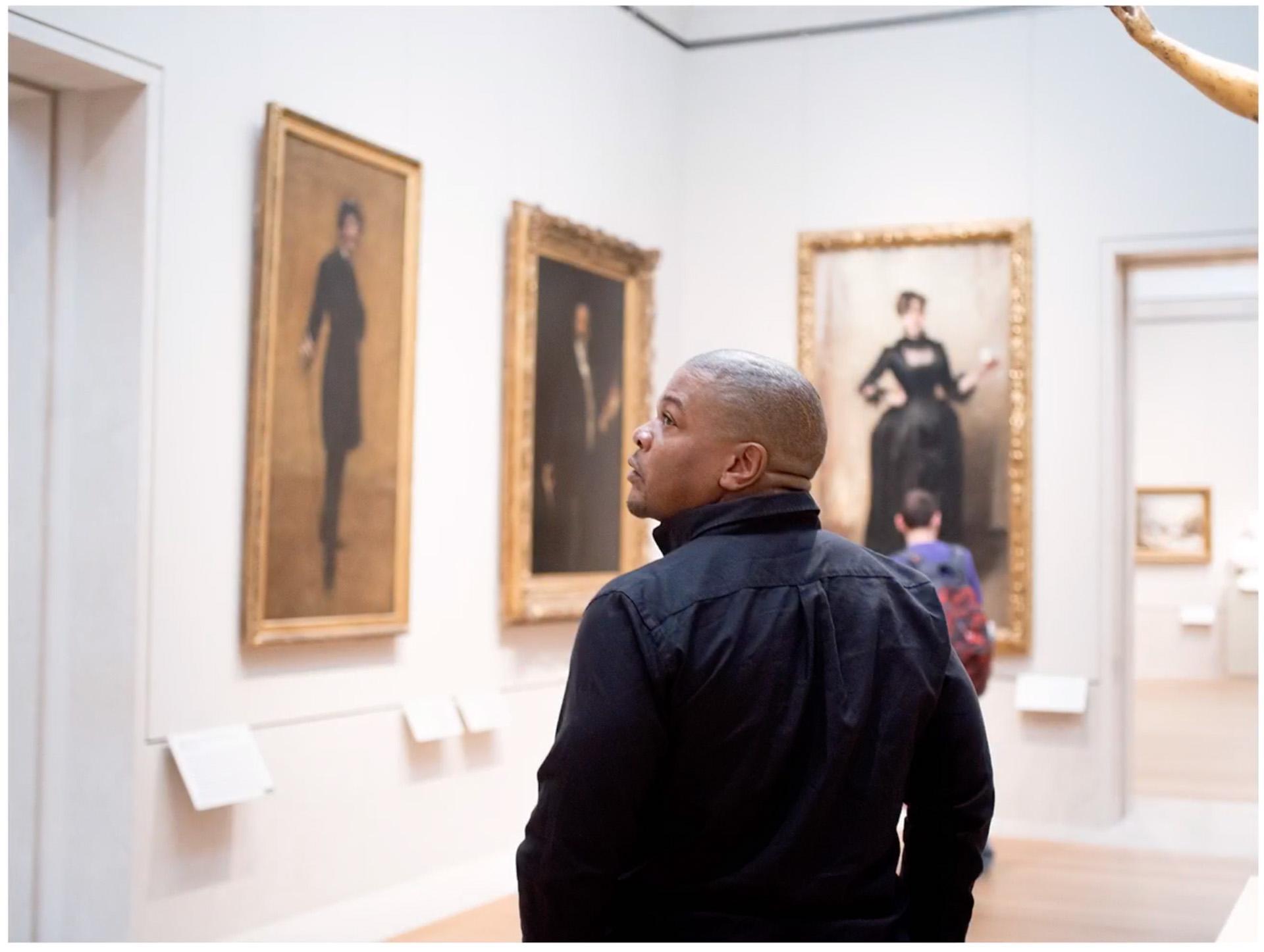 L'artiste Kehinde Wiley à propos des oeuvres de John Singer Sargent.