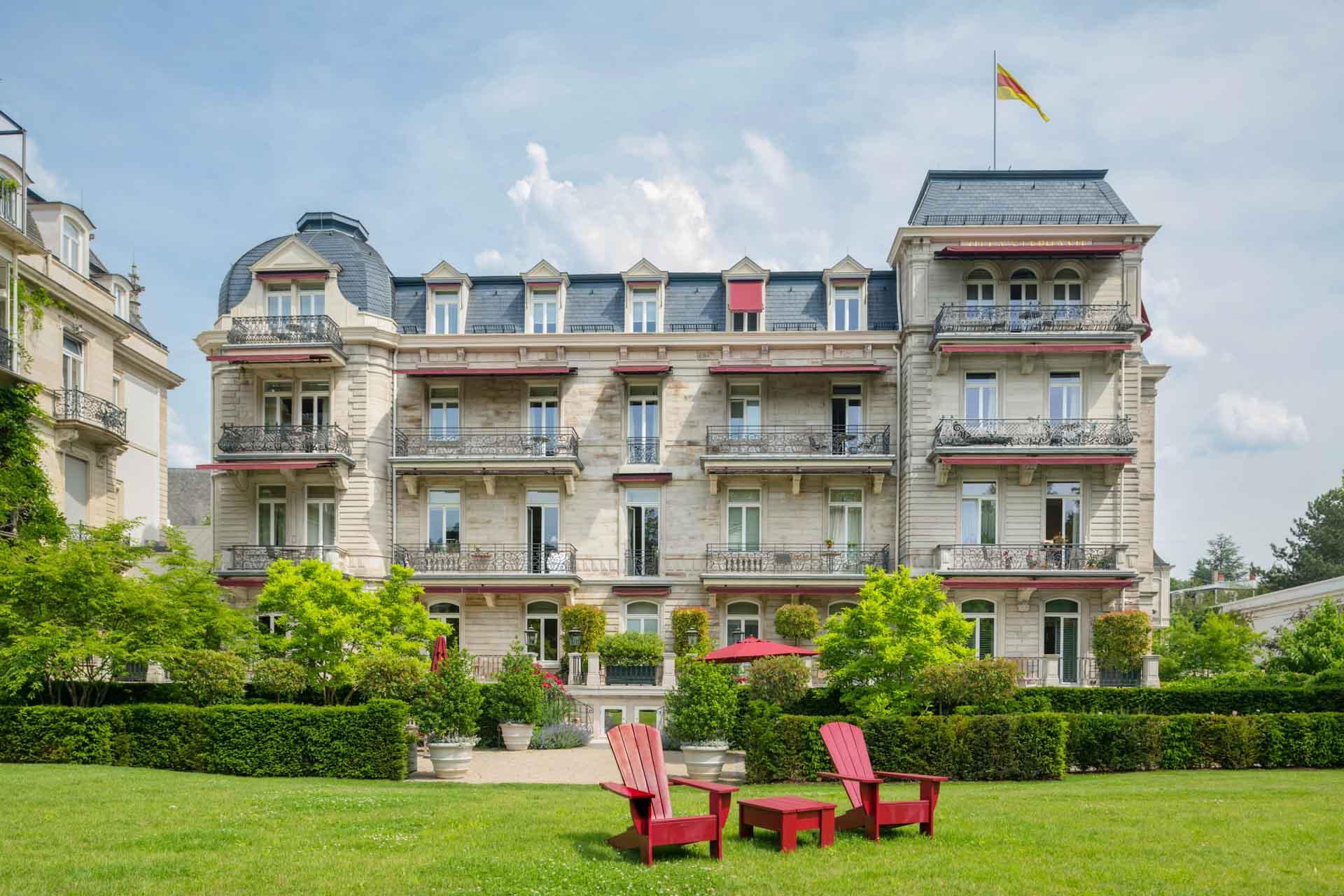 Villa Stéphanie Spa à Baden Baden © DR
