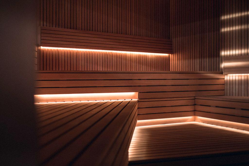 Sauna au Yonaguni Spa - Parc Hôtel Obernai © Nis&For