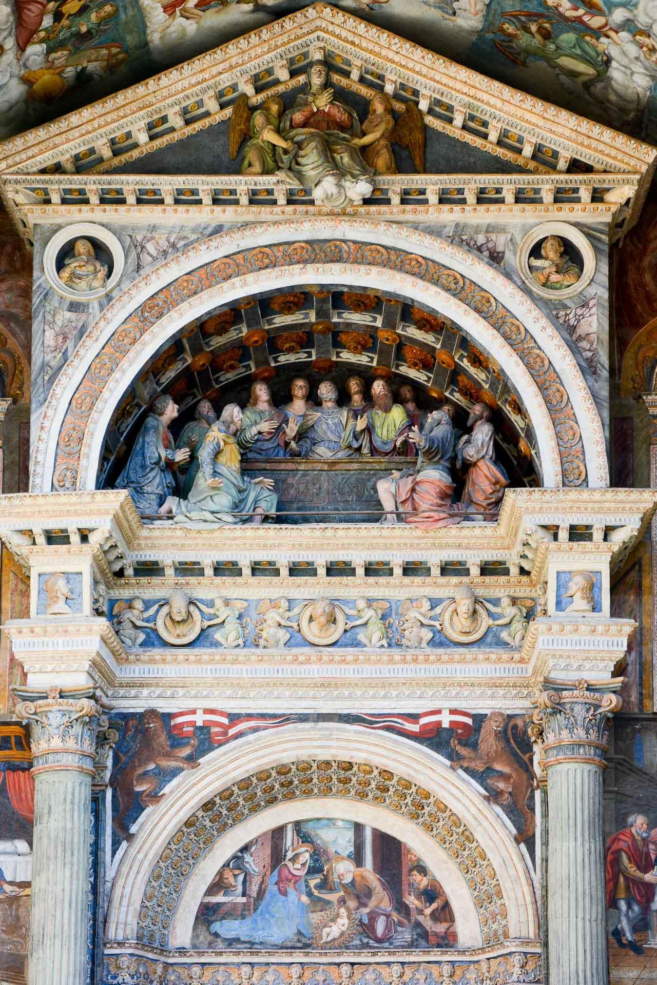 La cathédrale d'Aoste, sur la place Jean XXIII © Emmanuel Laveran