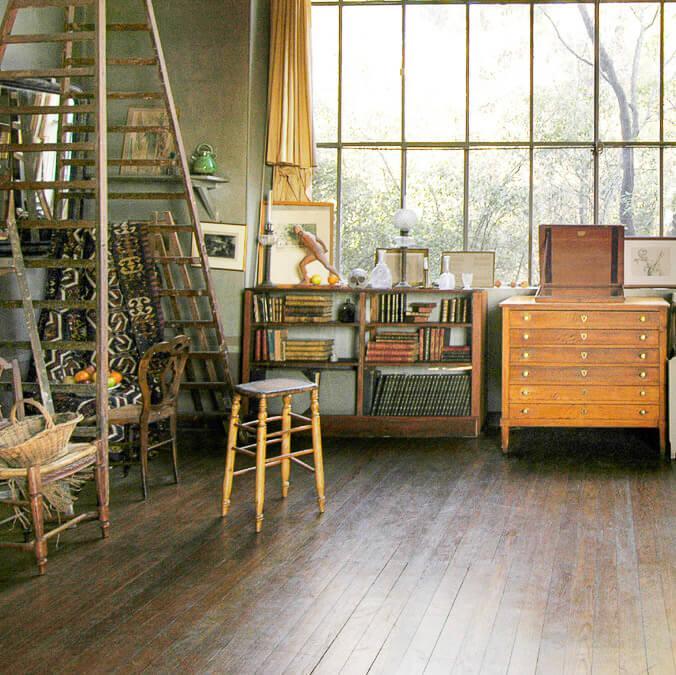 L'Atelier des Lauves permet de rentrer dans l'intimité de l'artiste © J.C. Carbonne