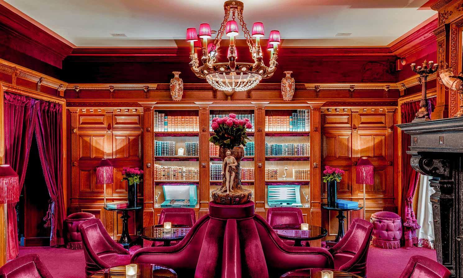 Le bar de la Maison Souquet © DR