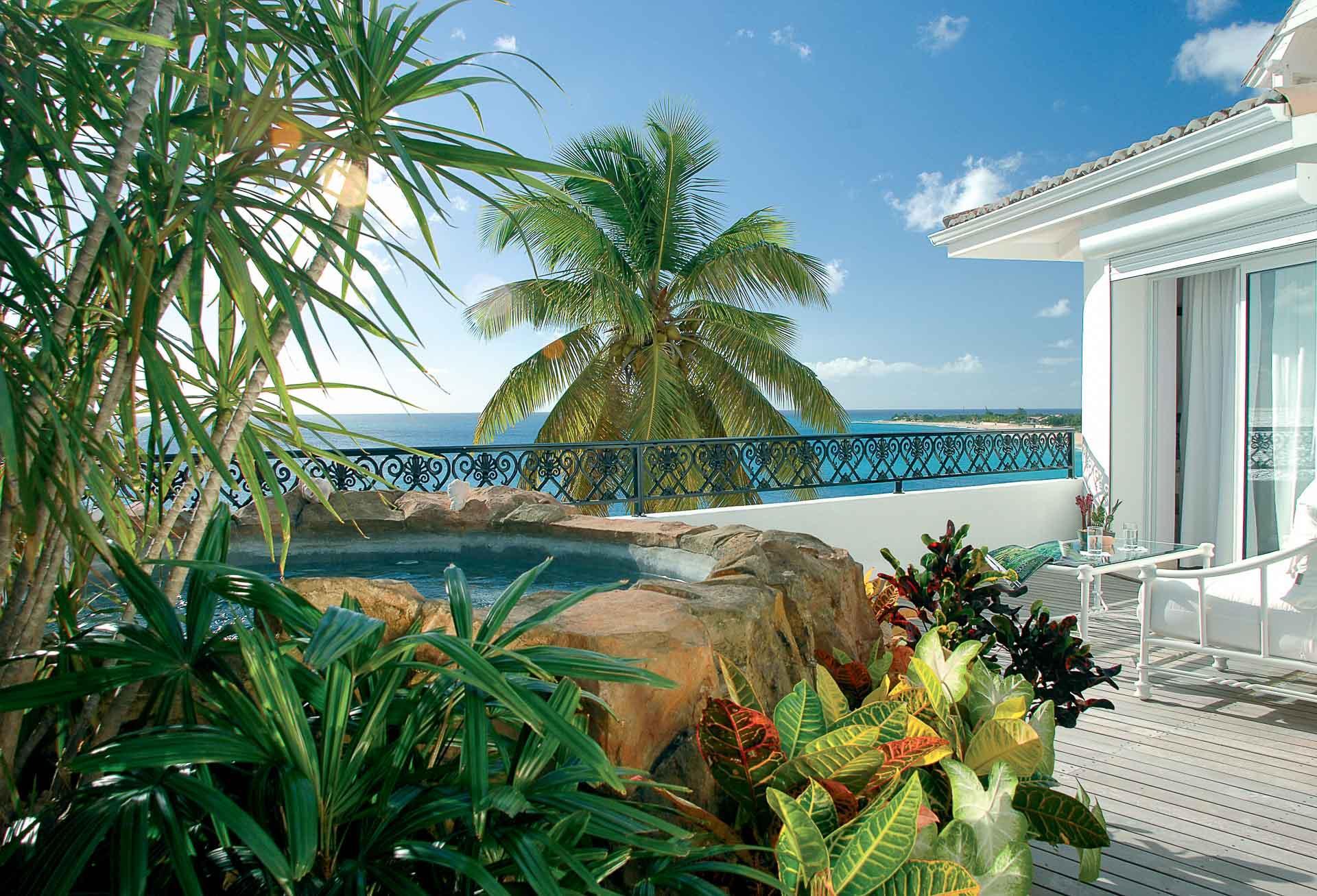 Se détendre en couple au Belmond La Samanna, l'hôtel le plus exclusif de Saint-Martin©Belmond Hotels