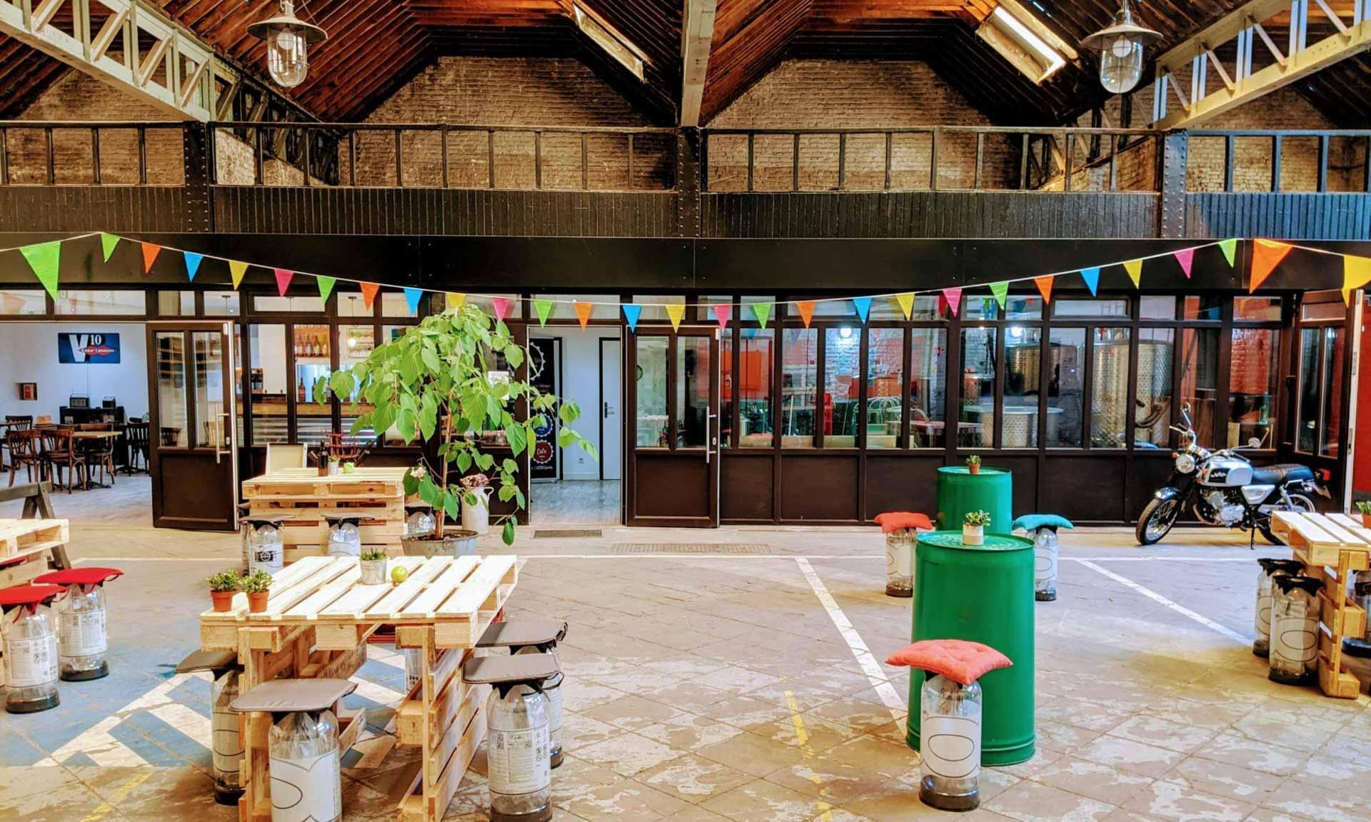 La joyeuse salle de la Brasserie de mai © Brasserie de mai
