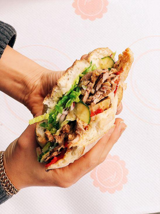 Le kebab de la Brasserie Rosie © DR