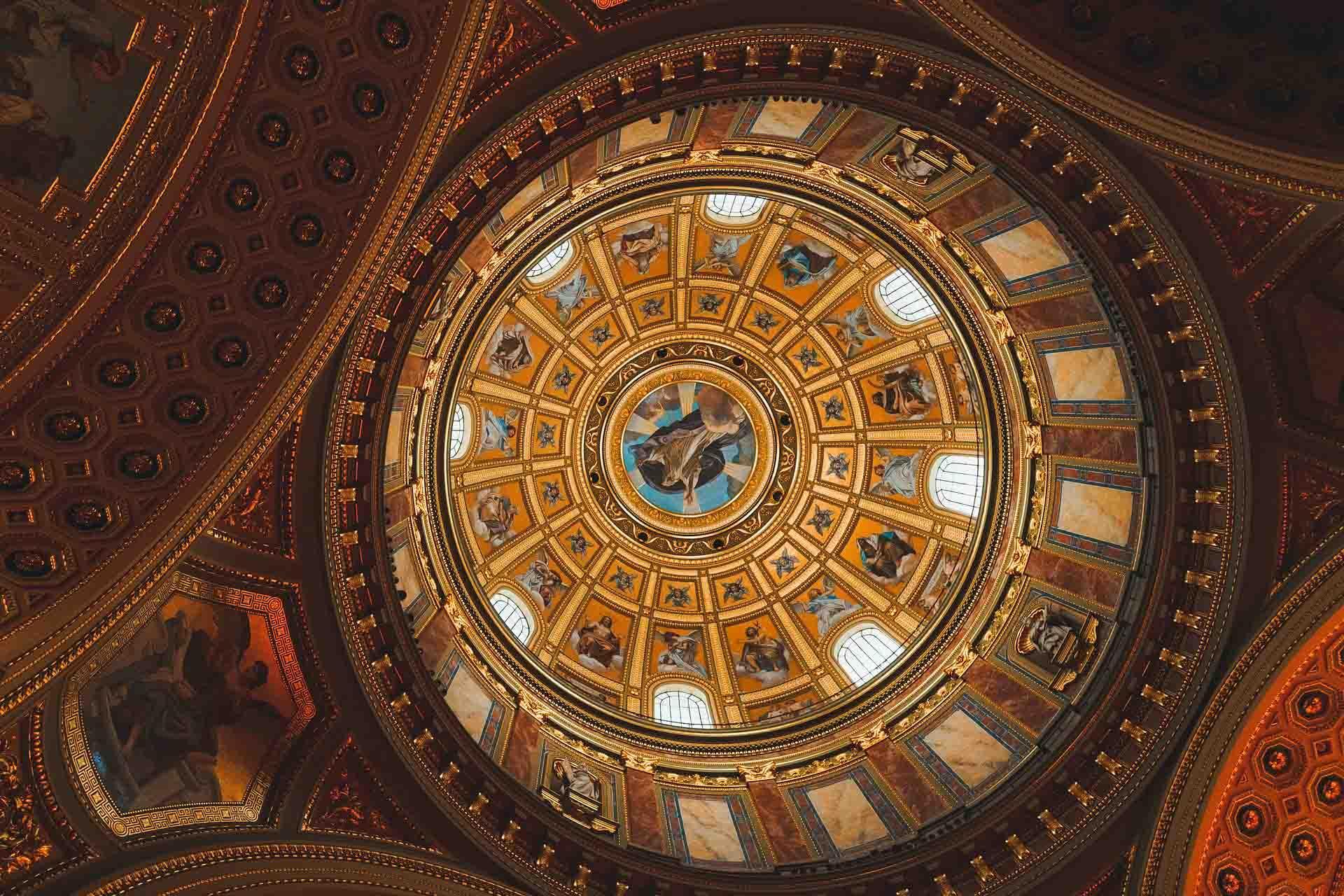 Le dôme de la Basilique Saint-Etienne © Anthony Fomin