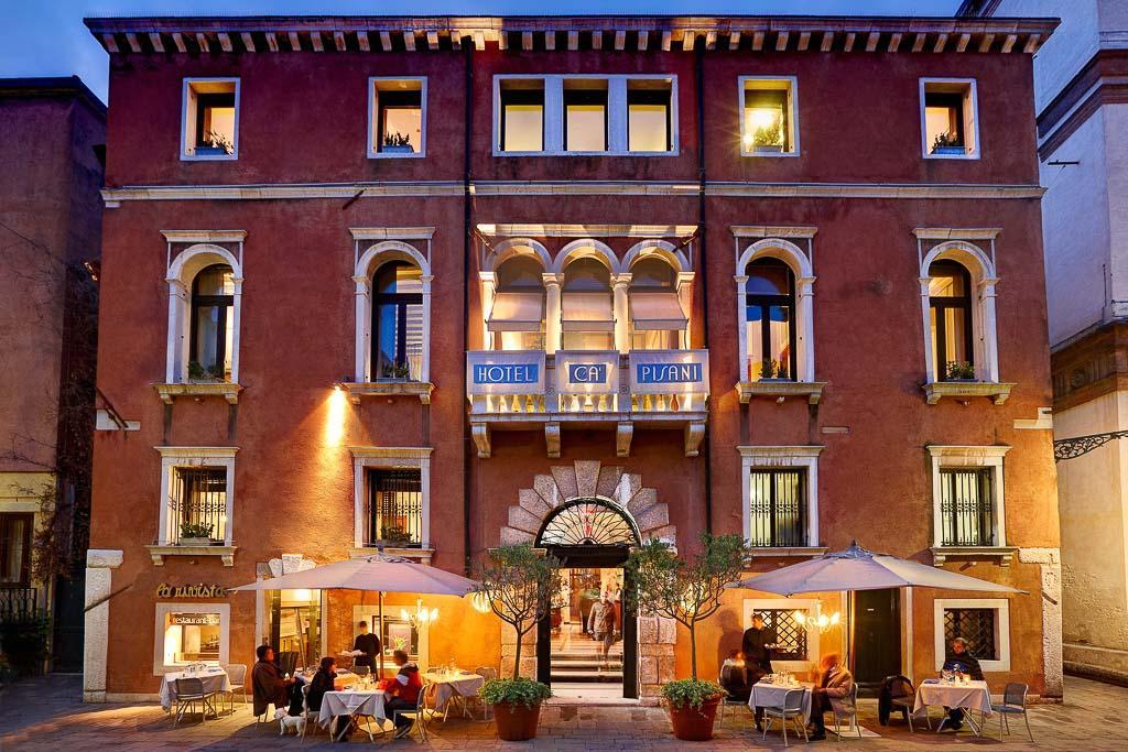 La façade du Ca'Pisani Hotel © DR