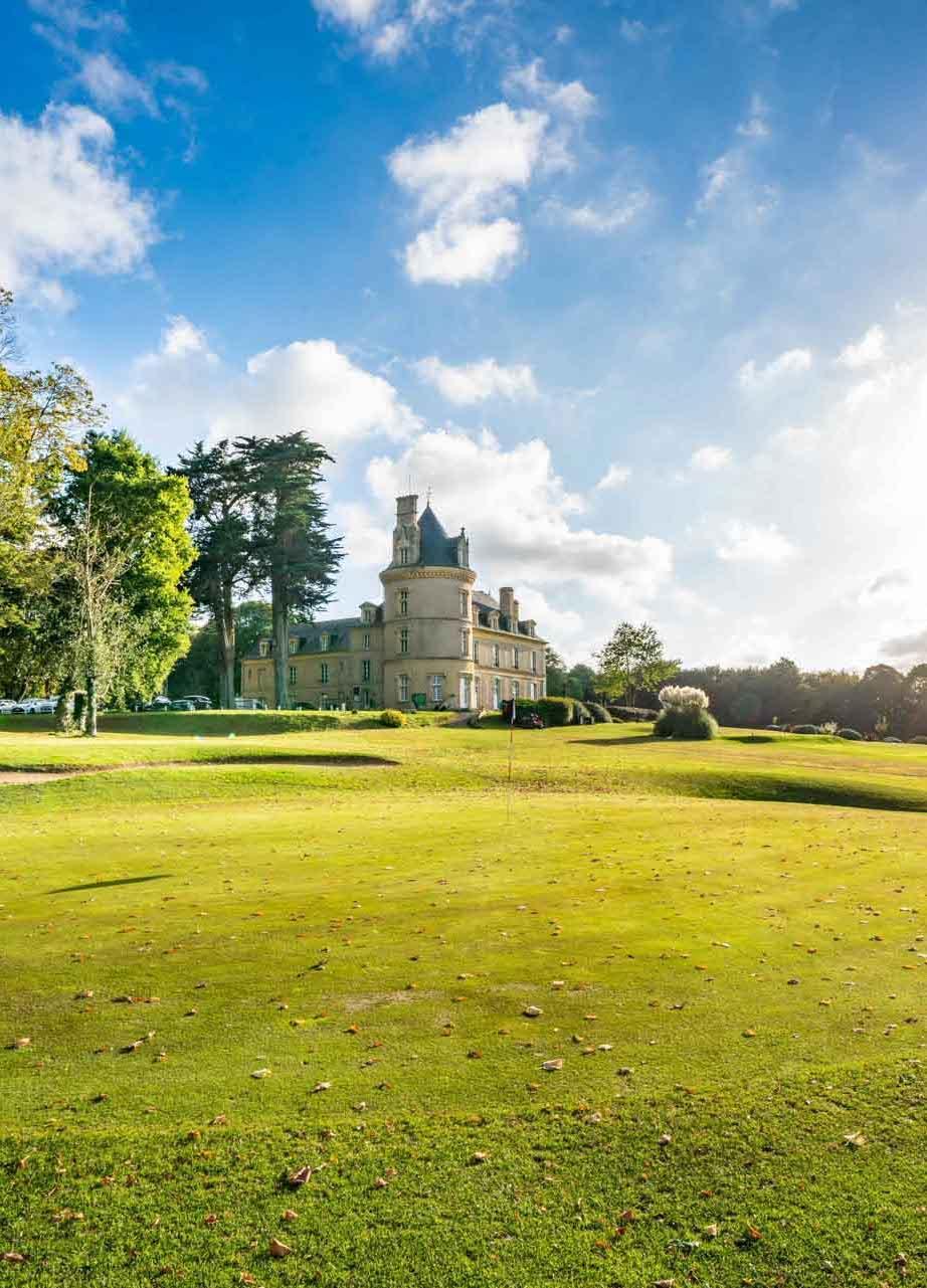 Le Château de Boisgelin — Parc © Dave Evans