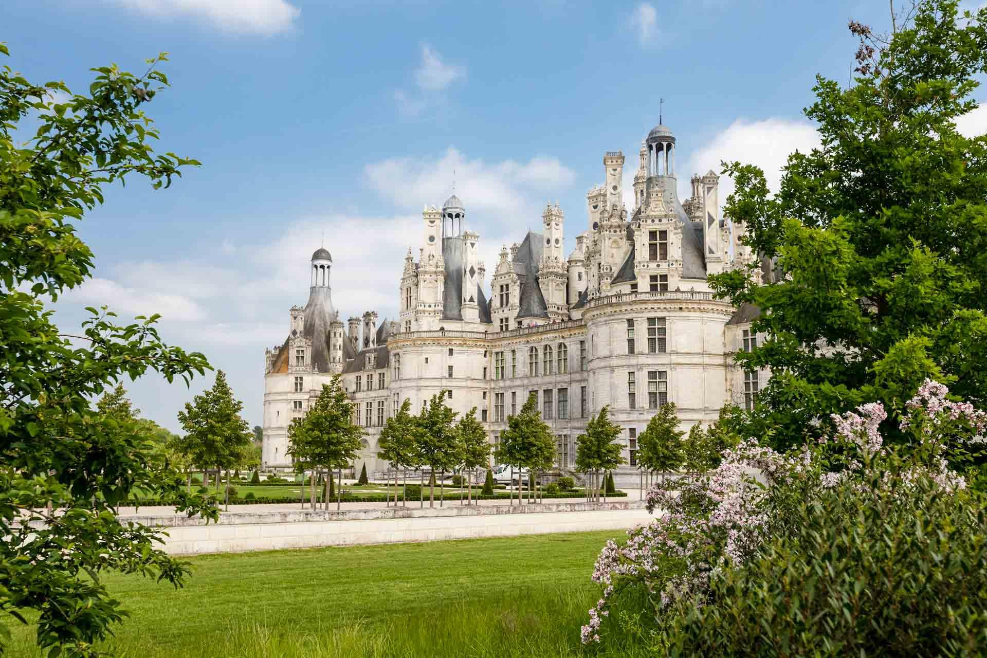 Chambord, la star des châteaux de la Loire © Dorian Mongel