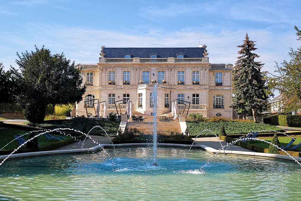 Le Château de Rilly près de Reims © DR