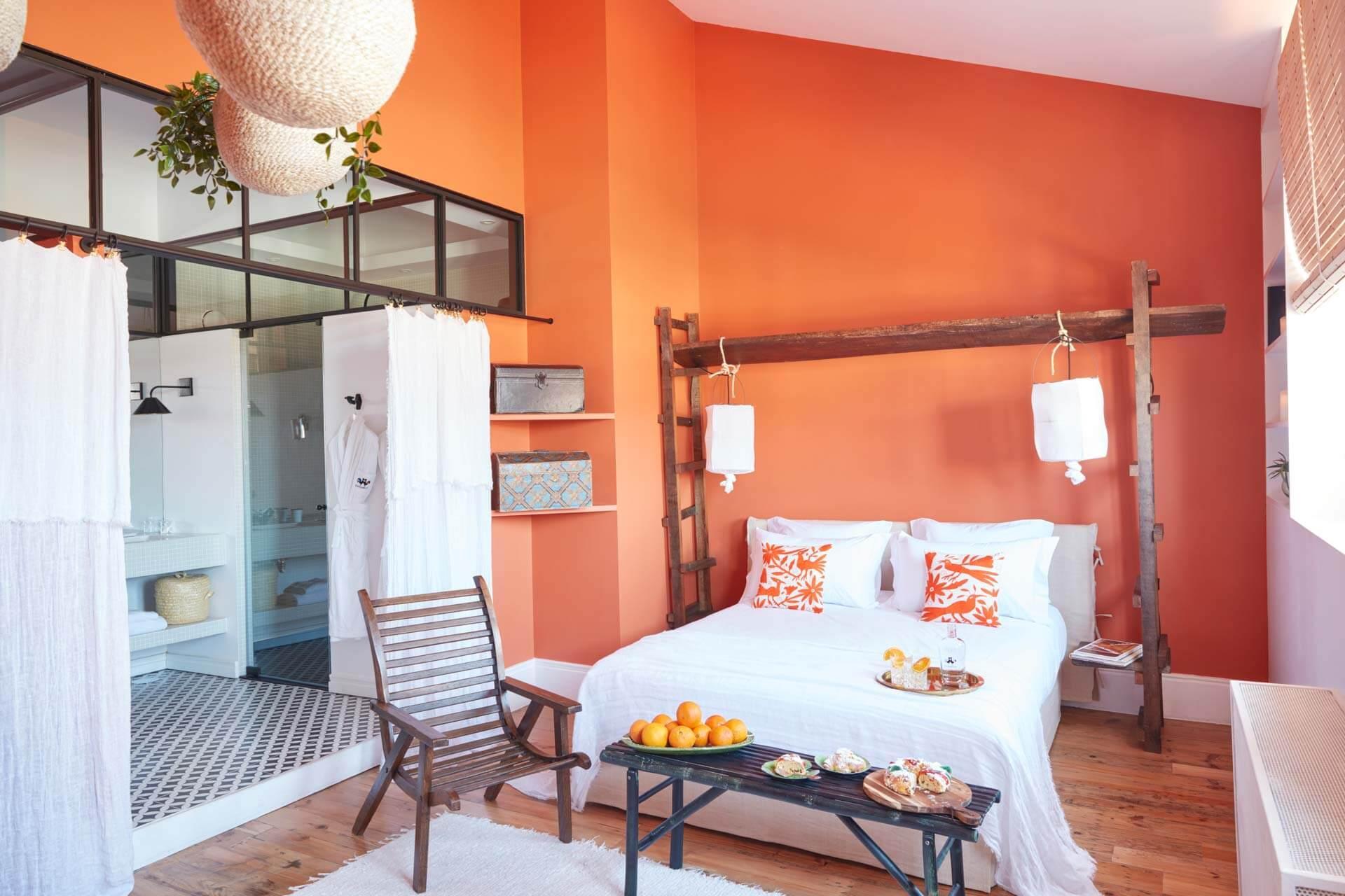 La chambre 2 de la Cocorico Luxury Guesthouse © Gaëlle Le Boulicaut