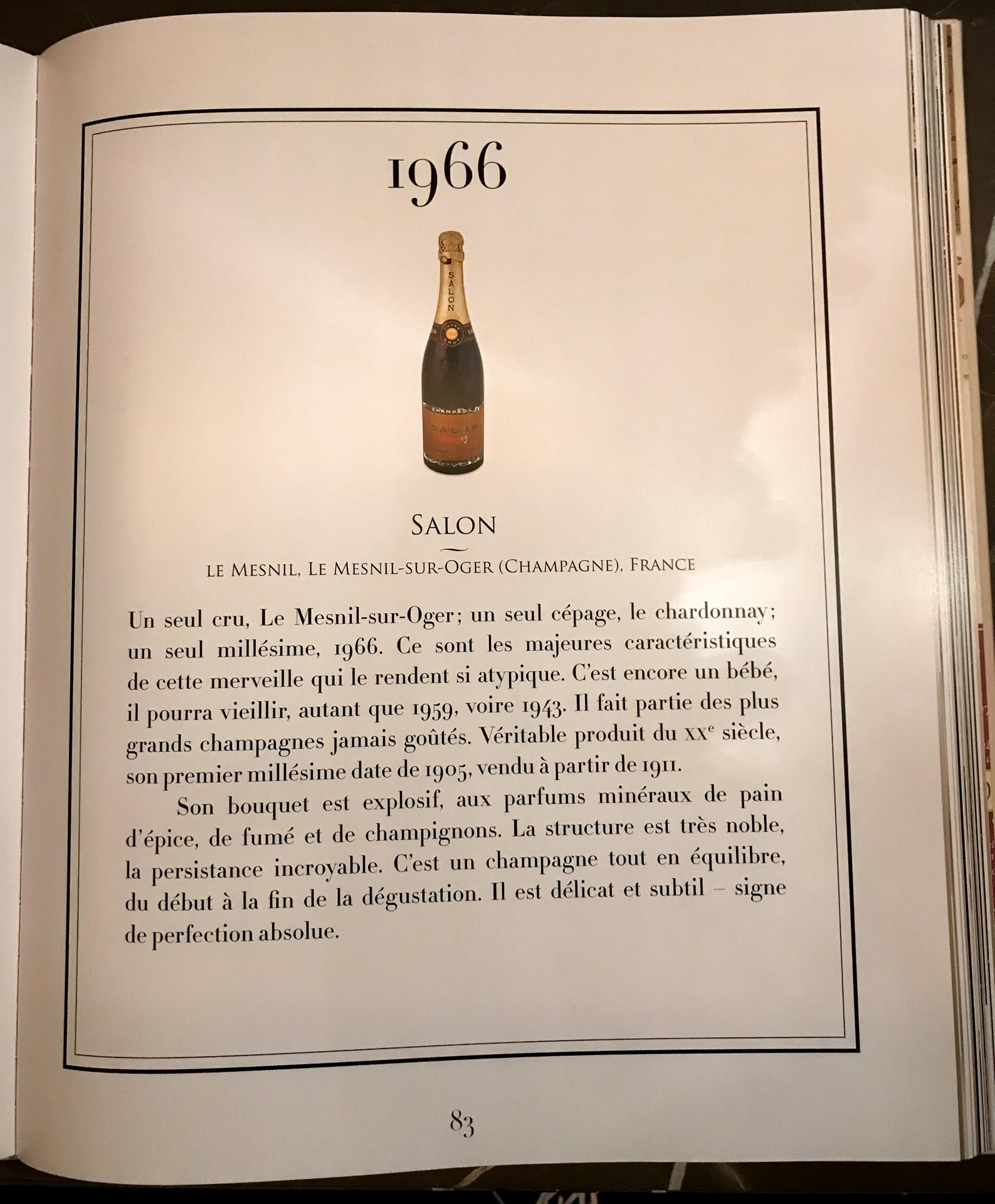 Pourquoi le champagne Salon est l\'un des plus réputés au monde