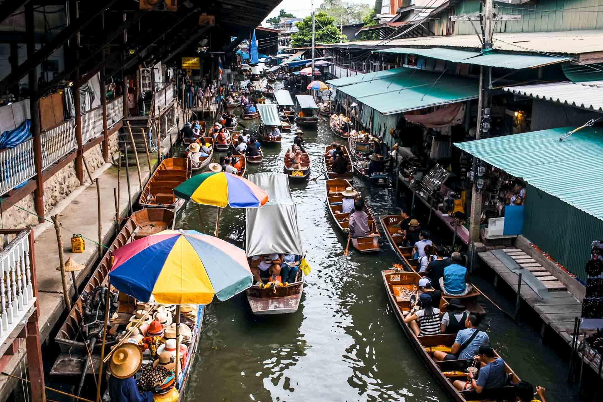 Les canaux de Bangkok © Frida Aguilar