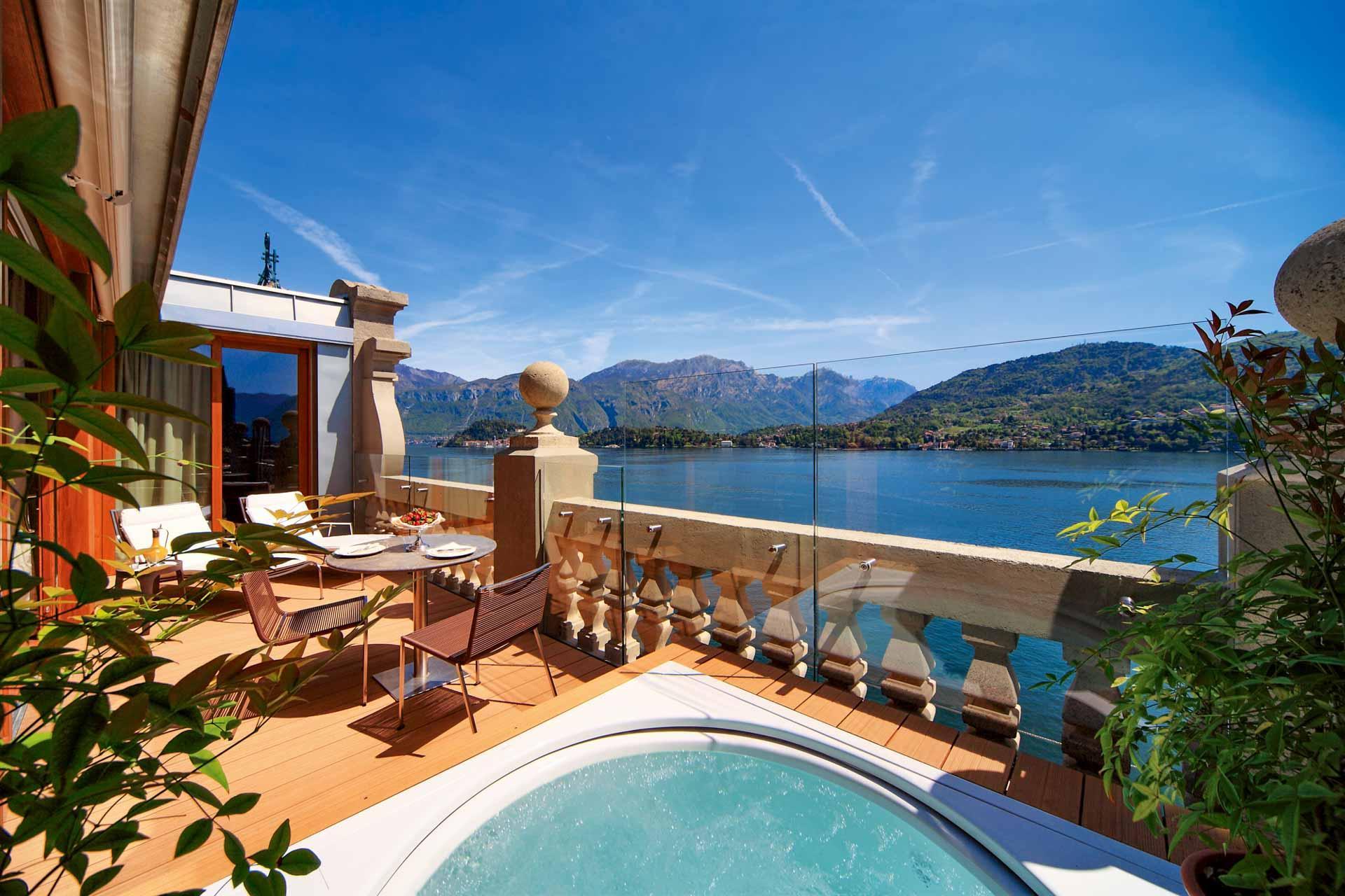 Rooftop Front Suite © Grand Hotel Tremezzo