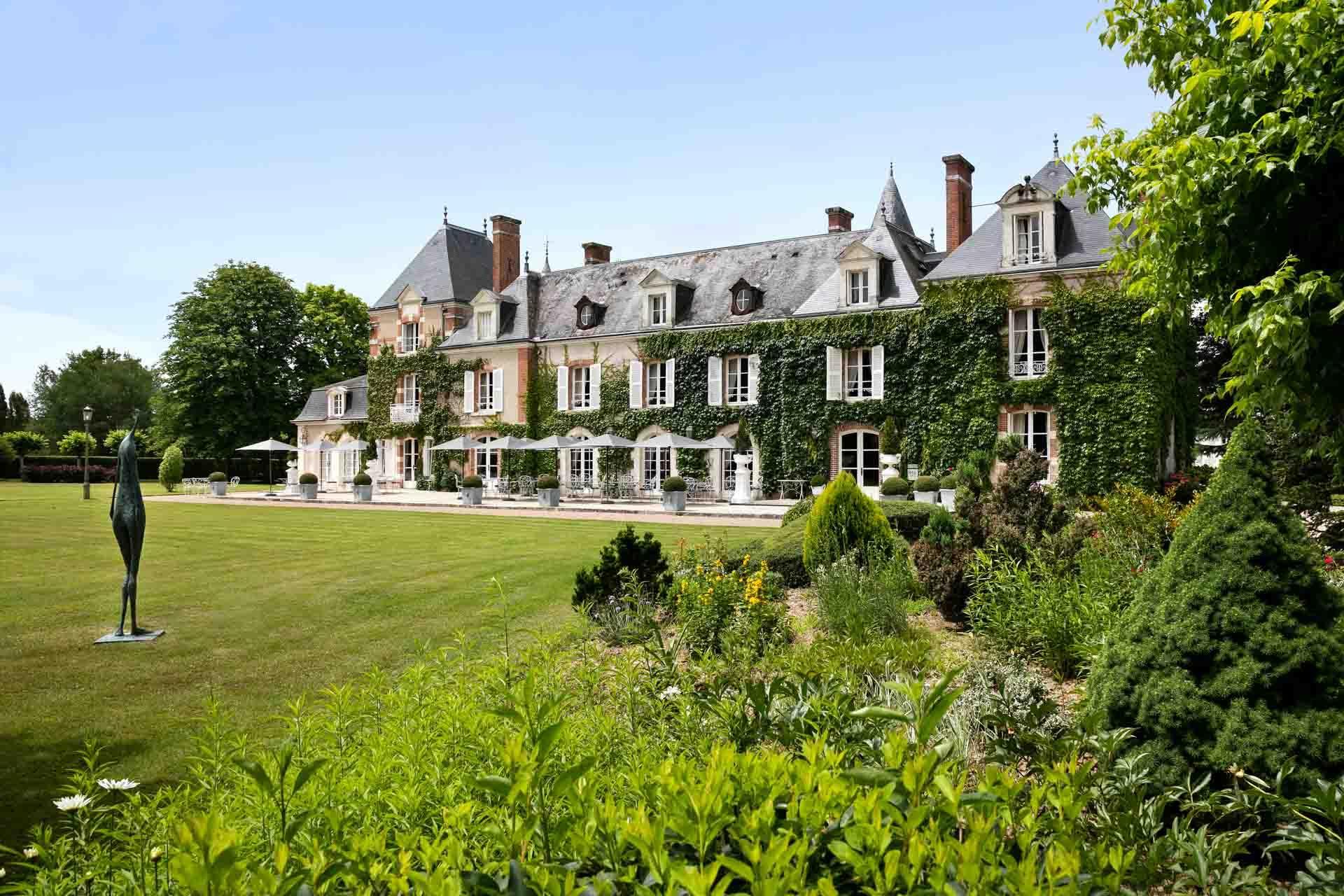Première étape du circuit dans le Val de Loire : l'hôtel les Hauts de Loire © Fabrice Rambert