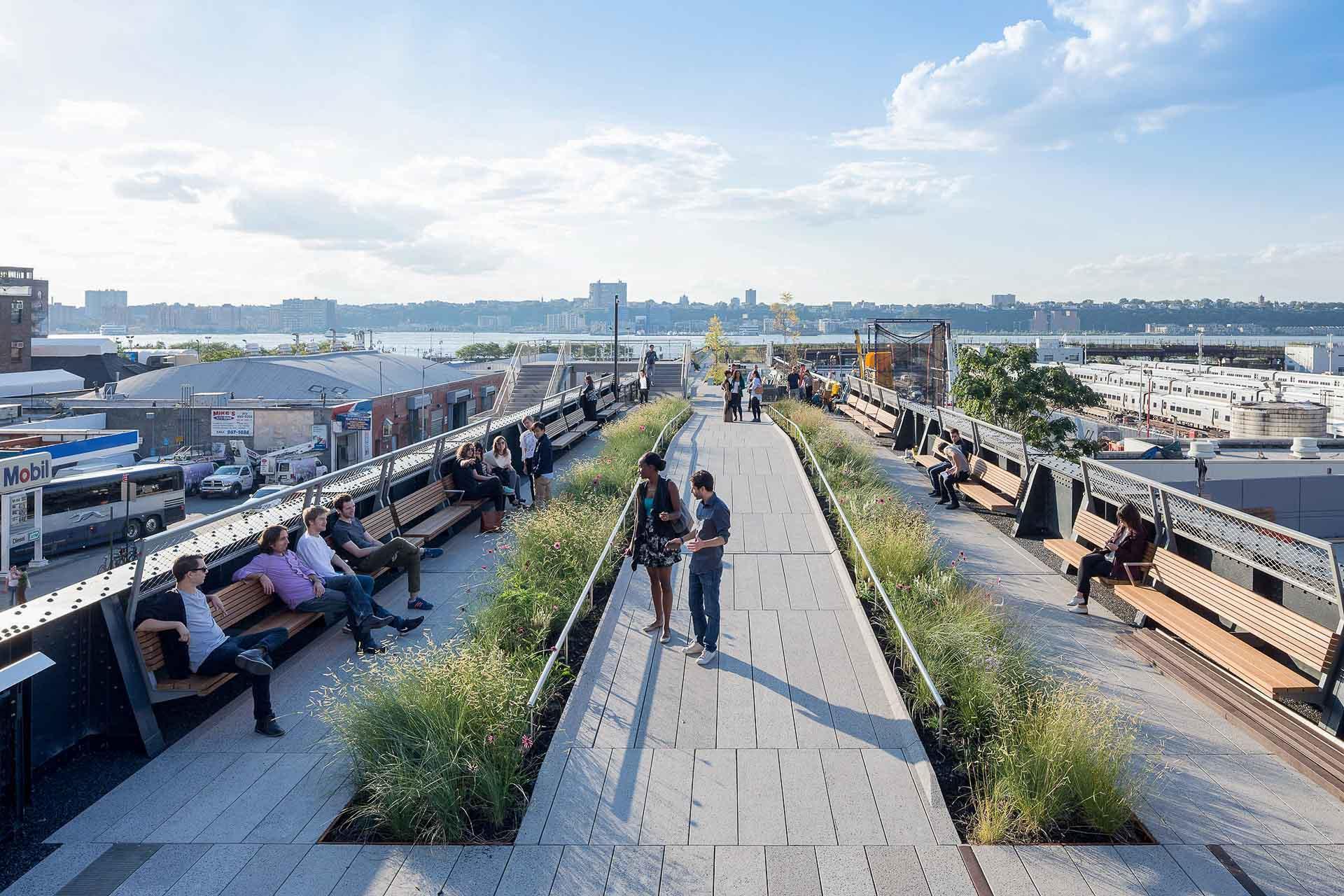 Vue de la High Line © Iwan Baan