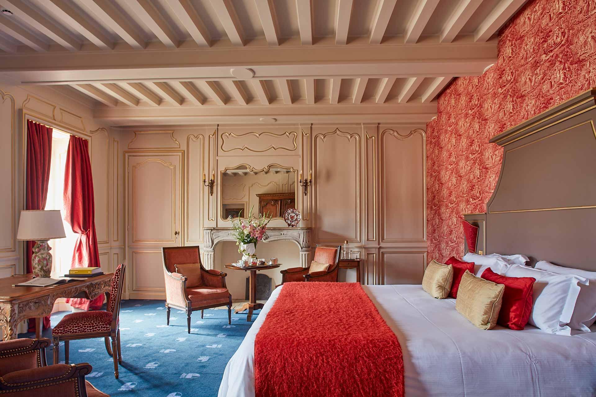 Toutes les chambres ont gardé un caché authentique © DR
