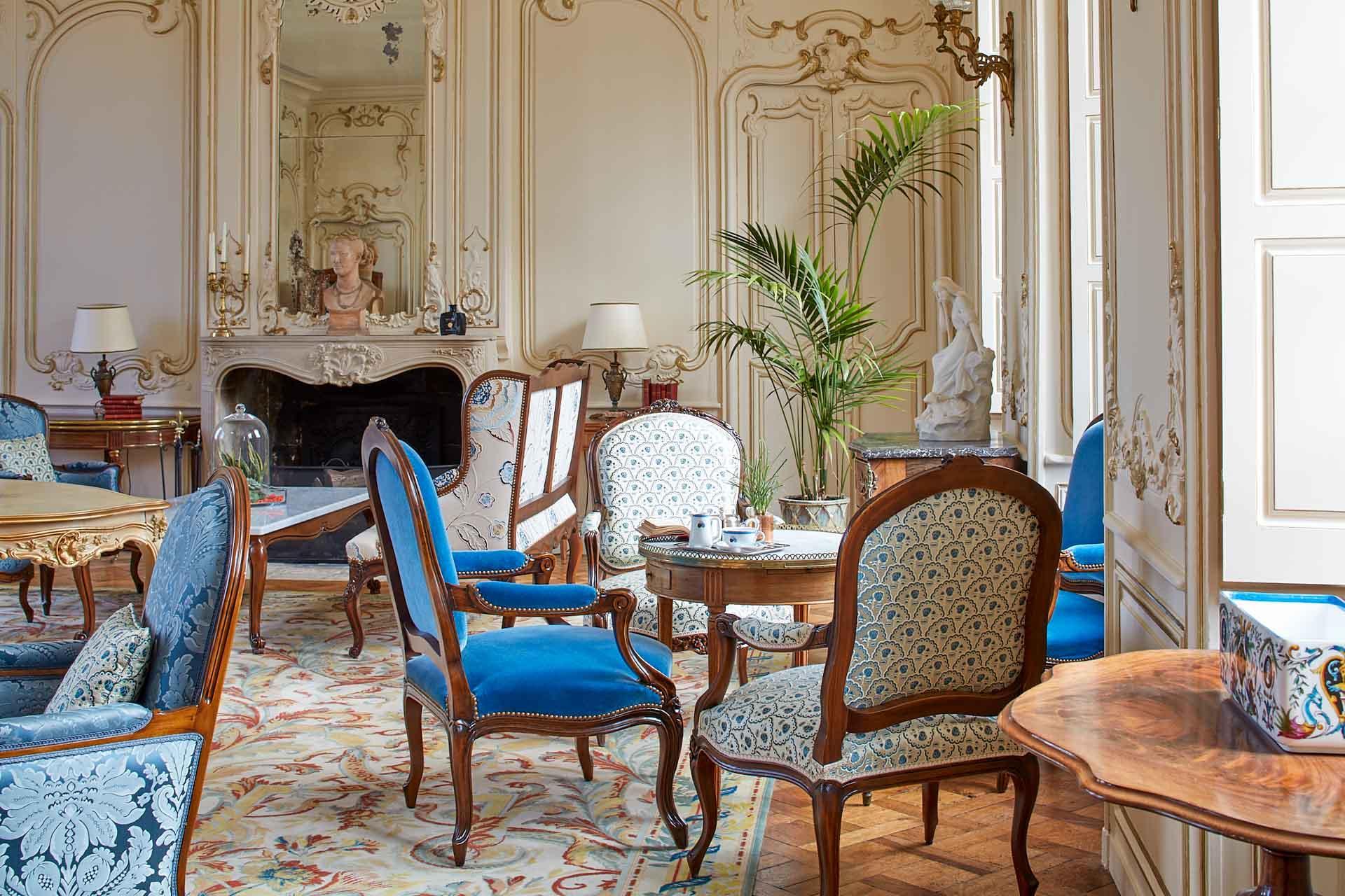 Le salon d'honneur © Antoine Schramm