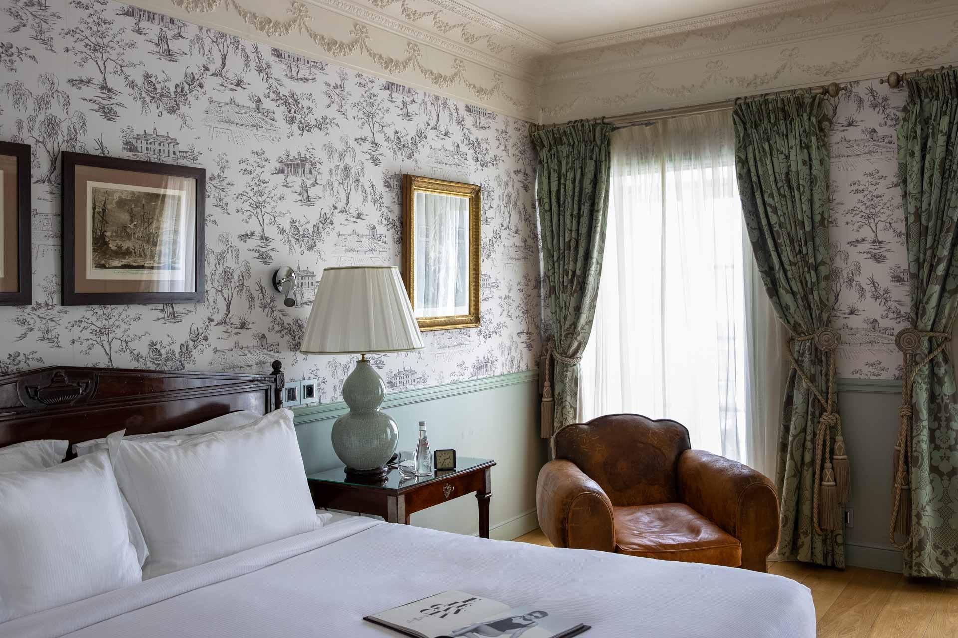 Suite Georges Washington à l'hôtel de Toiras © DR