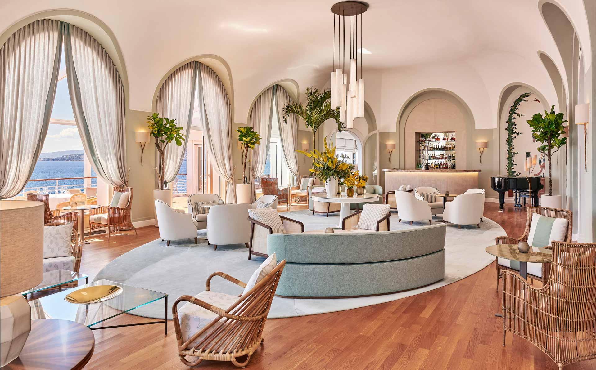 La Rotonde piano-bar à l'Hôtel du Cap-Eden-Roc © J.M. Sordello