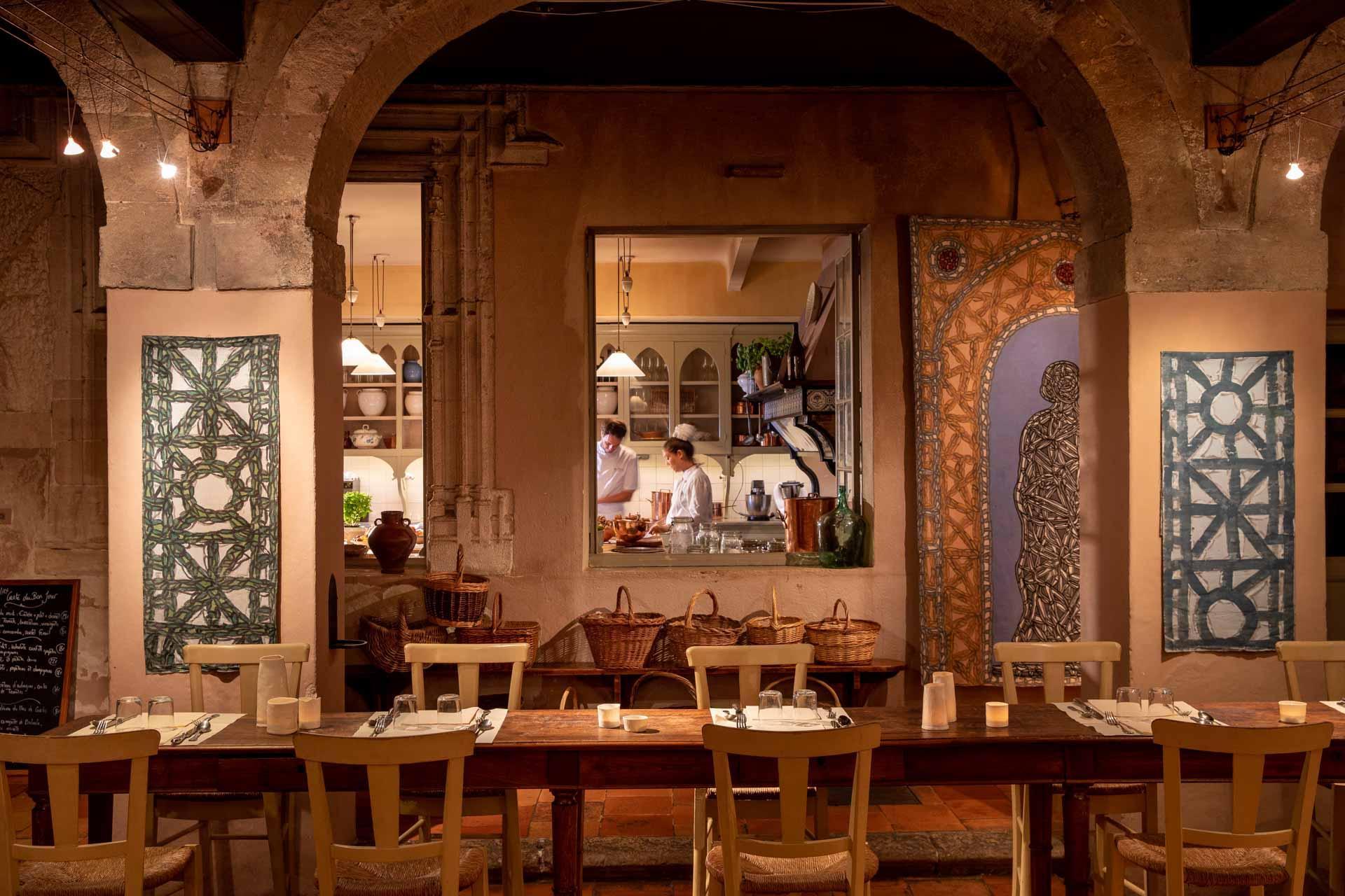 Le restaurant Le Mirage © Christophe Bielsa
