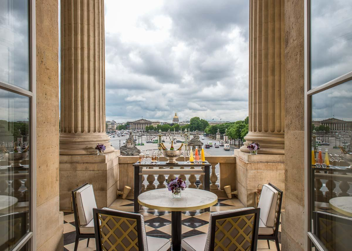 Hôtel de Crillon - Terrasse Marie-Antoinette © Hôtel de Crillon, A Rosewood Hotel