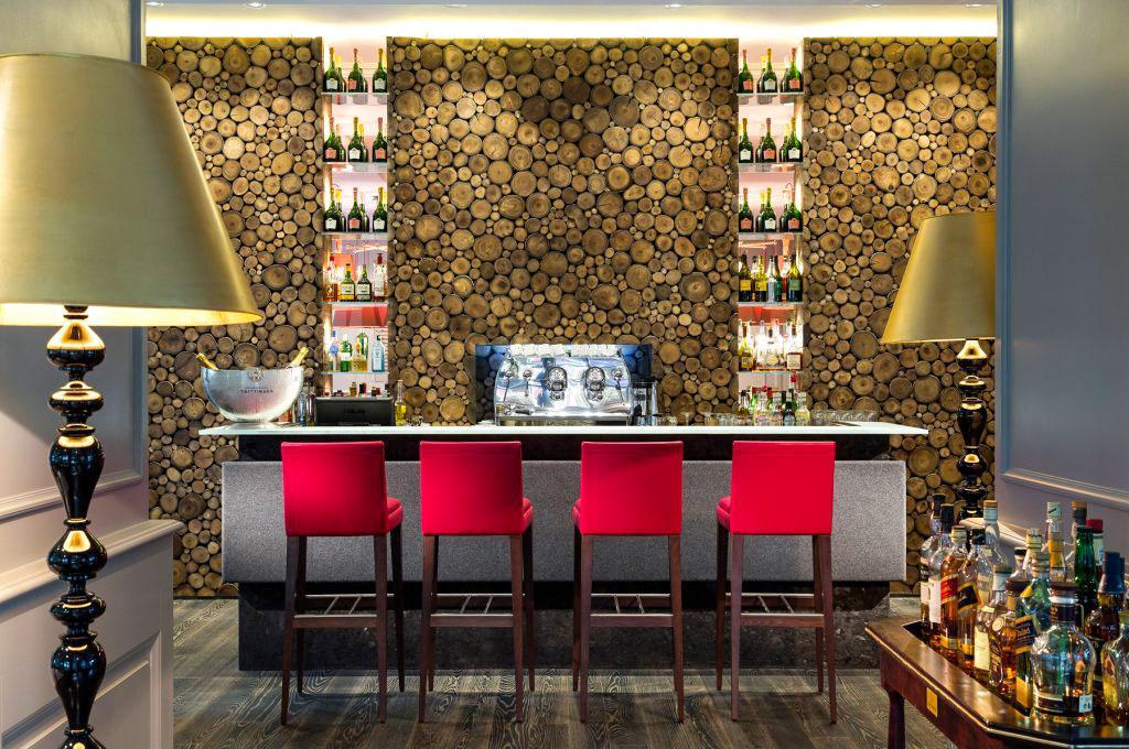 Au bar de l'hôtel © Hôtel Mont-Blanc Chamonix