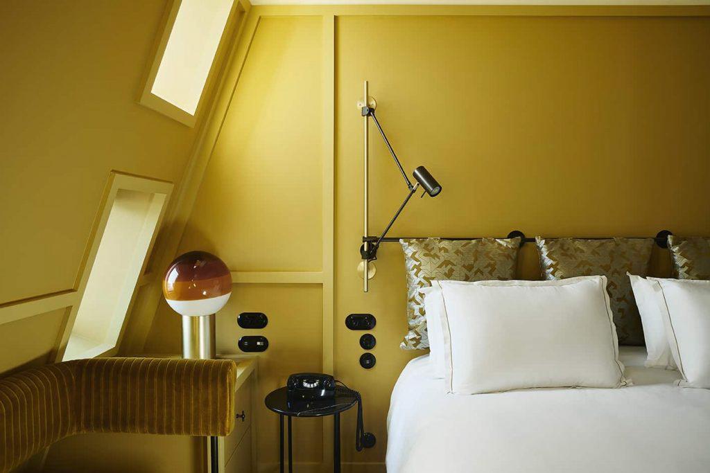 Hôtel Le Ballu – Chambre standard © DR