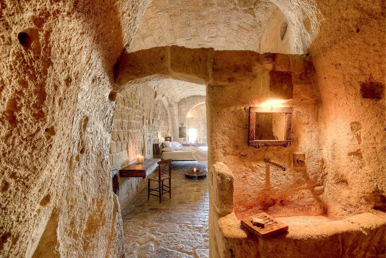 La grotta 16 de l'hôtel Sextentio © Sextantio