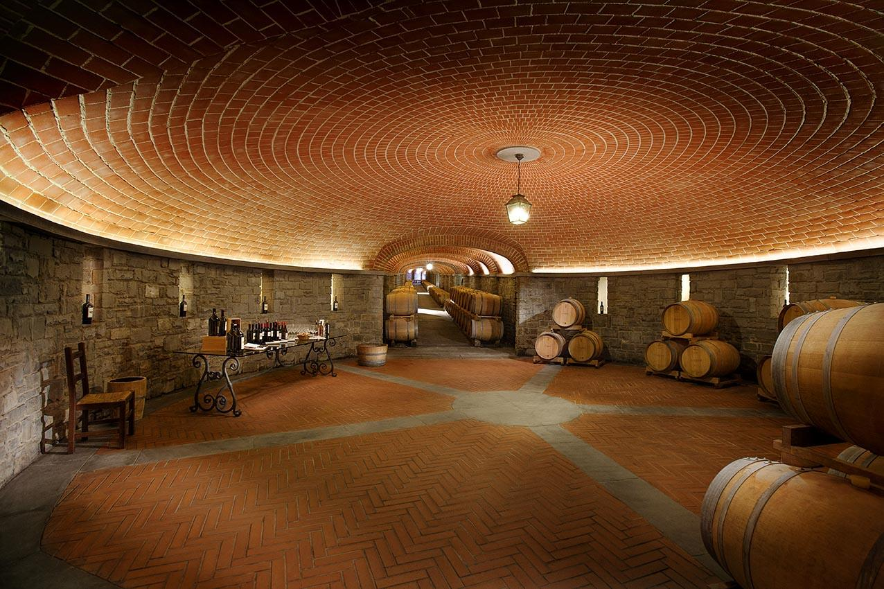Il Borro — Nouvelle cave © Il Borro.