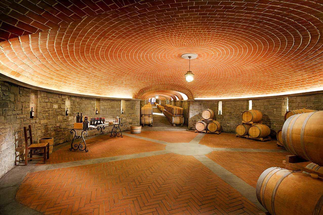 Il Borro fait partie du réseau Toscana Wine Architecture © Il Borro