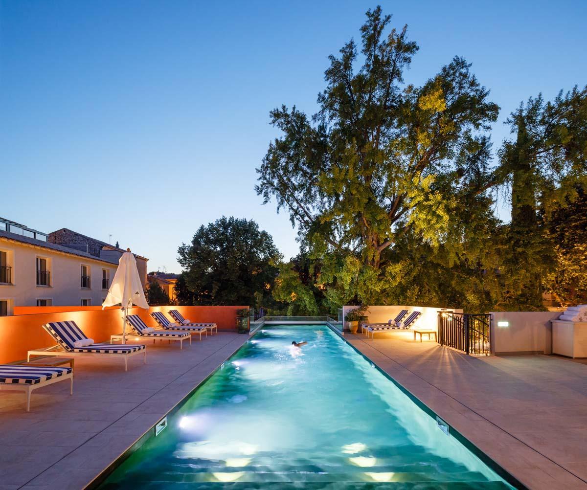 La piscine extérieure © Marcela Grassi
