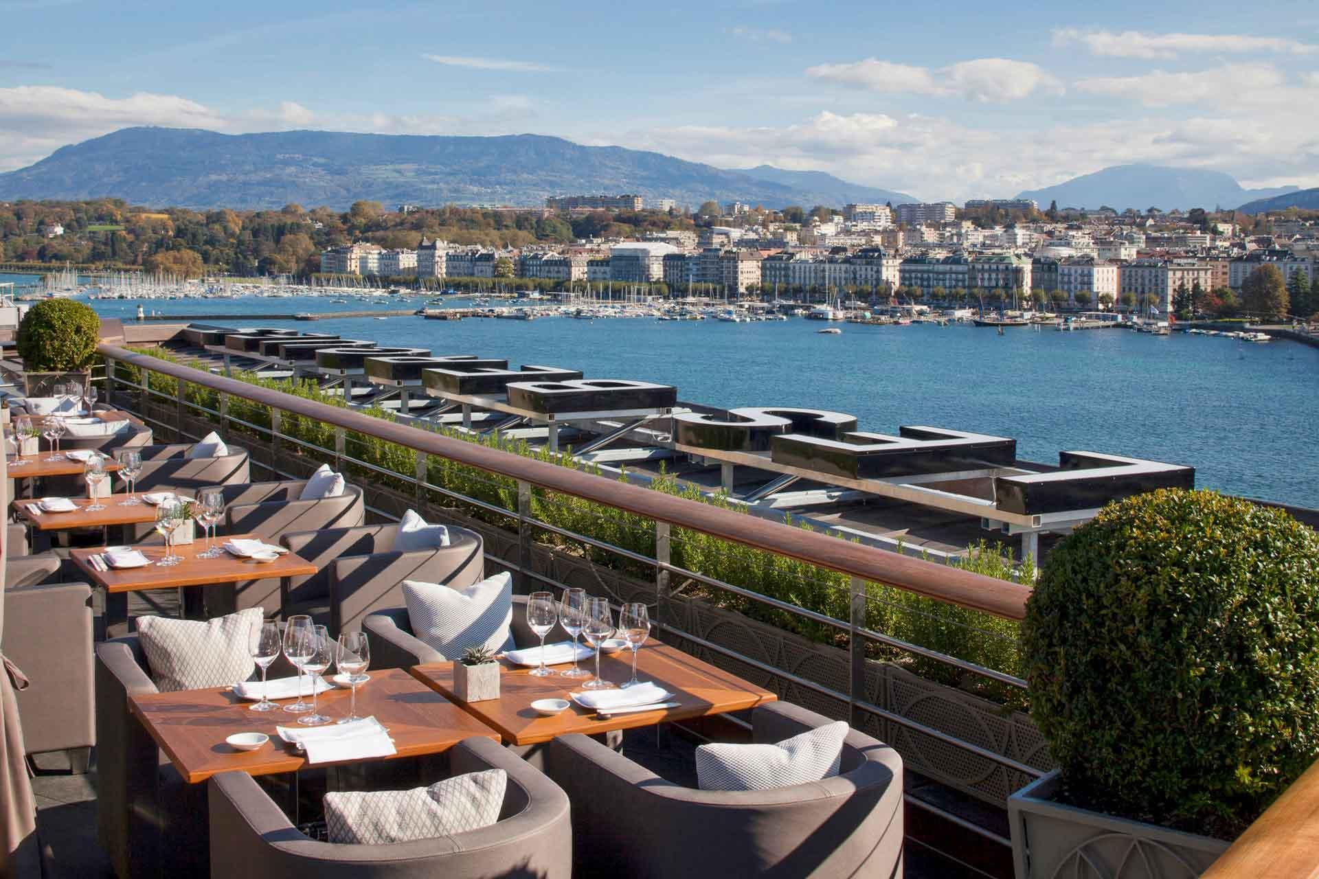 Le restaurant Izumi au Four Seasons Genève © Pryce Will Four Seasons